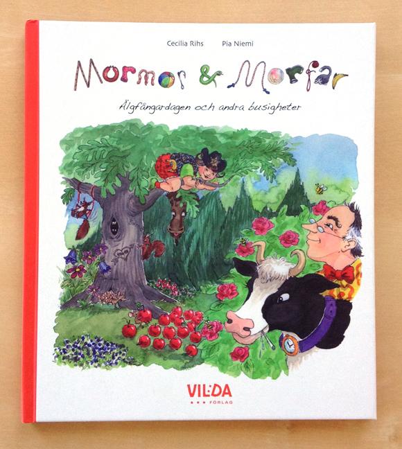 Mormor & Morfar omslag bok