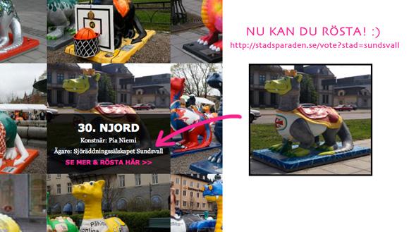 Rösta på Njord