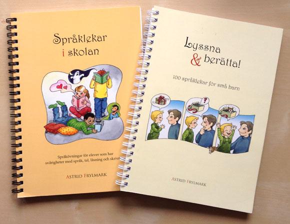 Språklekar i skolan & Lyssna & Berätta